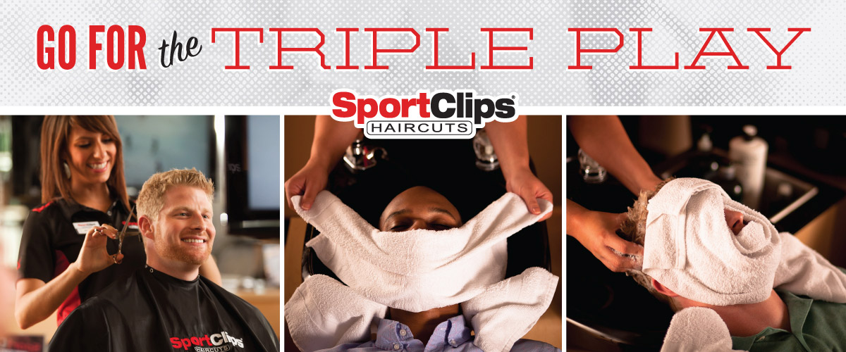 The Sport Clips Haircuts of South Sarasota  Triple Play